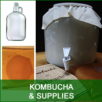 Kombucha, Tea, Supplies