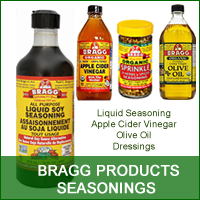 Bragg Seasonings - Liquid Aminos, Olive Oil, Apple Cider Vinegar