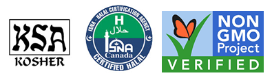 kosher, vegan, certified isna