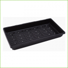 Double thick tray with holes