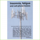 Insomnia, fatigue and cell-phone towers