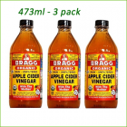 Apple Cider Vinegar -473 ml x 3