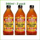 Apple Cider Vinegar - 946 ml x 3