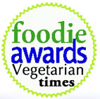 foodie award - vegetarian