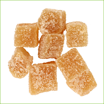 Candied Ginger (organic)-250g - Click Image to Close