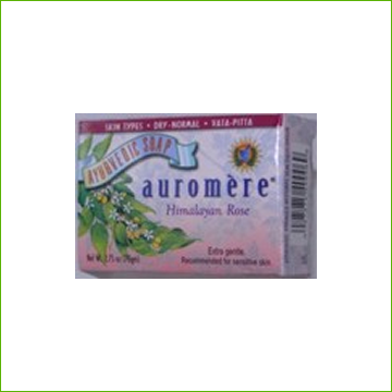 Auromere Soap - Himalayan Rose - Click Image to Close