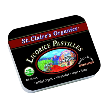 Organic Sweets - Licorice - Click Image to Close