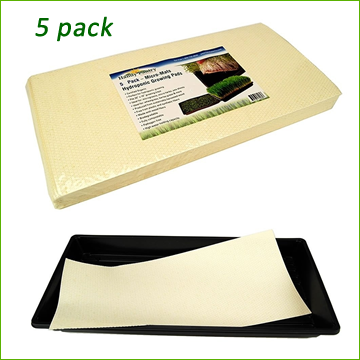 Micro Mats - Hydroponic Growing Pads 5pk - Click Image to Close