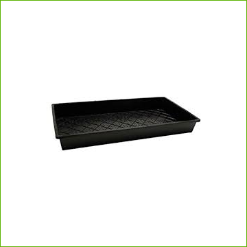 "Tray Sunblaster Quad Thick Ultra Durable 10x20x2"" (with holes) - Click Image to Close"
