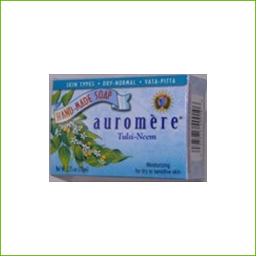Auromere Soap -Tulsi-Neem - Click Image to Close
