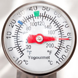 close up thermometer